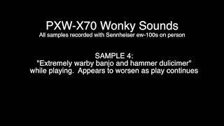 PXWX70 Wonky Sound