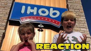 Gambar cover Kid Temper Tantrum Reacting To IHop Becoming IHob [ Original ]