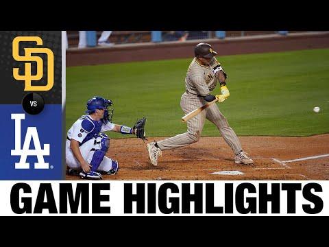 Padres vs. Dodgers Game Highlights (4/22/21) | MLB Highlights