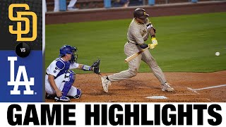 Padres vs. Dodgers Game Highlights (4/22/21) | MLB Highlights
