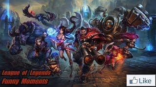 FUNNY MOMENTS LEAGUE OF LEGENDS !!! Pentakill DARIUS ?!!?!?