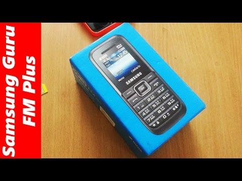 Samsung Guru FM Plus Dual SIM unboxing: cheap budget phone