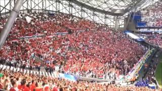 Magyar szurkolók elfoglalják Marseillet | Hungarian fans take over Marseille EURO 2016