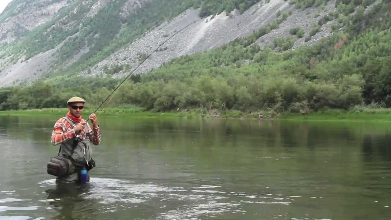 Fly fishing for trout and grayling in norway youtube for Fishing in norway