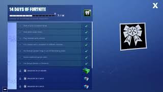 14 days of fortnite reward 7th gift