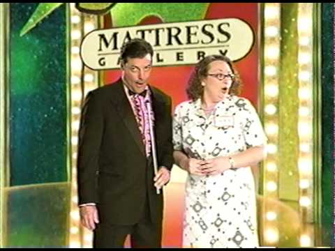 Jeff Rector is The Game Show Host for Mattress Gallery