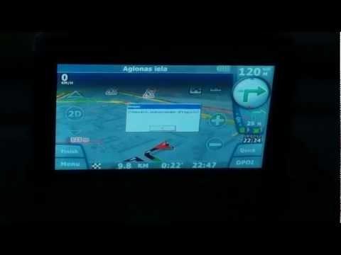СитиГид (CityGuide) на выезжающем навигаторе Volvo RTI