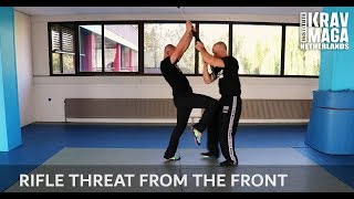 Krav Maga Technique of the Week: Rifle Threat from the Front with Amnon Darsa at IKMN