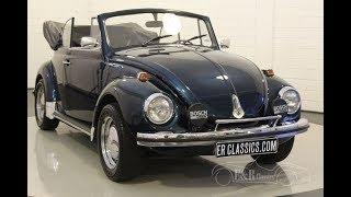 VW Beetle 1302 cabriolet 1971-VIDEO- www.ERclassics.com