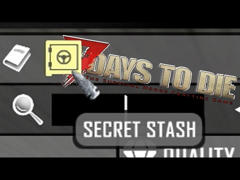 Secret Stash & Insane Treasure Chest | 7 Days to Die | S09E82