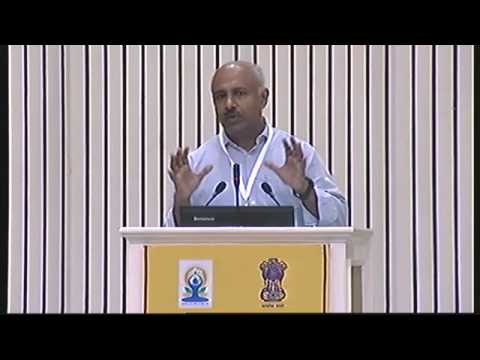 INTERNATIONAL CONFERENCE ON YOGA FOR HOLISTIC HEALTH  VIGYAN BHAWAN, NEW DELHI  JUNE 21,2015 video 5