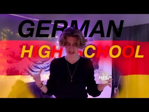 American goes to a German Highschool   (exchange year ...kinda)