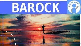Barock – Literaturepoche einfach erklärt – Merkmale, Literatur, Geschichte, Vertreter