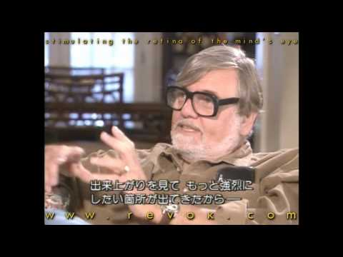 GEORGE A. ROMERO - Interview (part 1) Discussing his Japanese fans and Dawn of the Dead