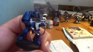 Comment peindre un Space marines ultra marine part1(, 2012-06-02T14:01:37.000Z)