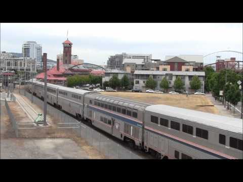 Amtrak Coast Starlight w/ Pullman Dover Harbor