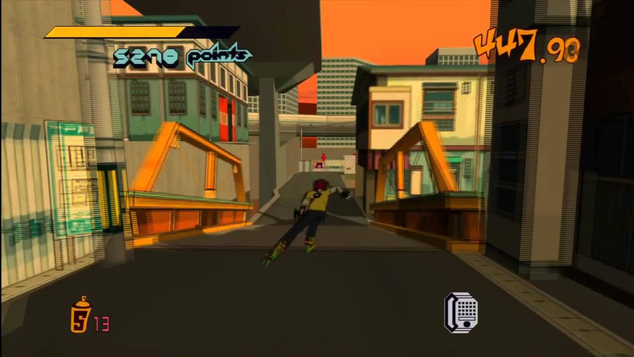 Jet Set Radio Hd Walkthrough Part 3 Unlocking Garam Youtube