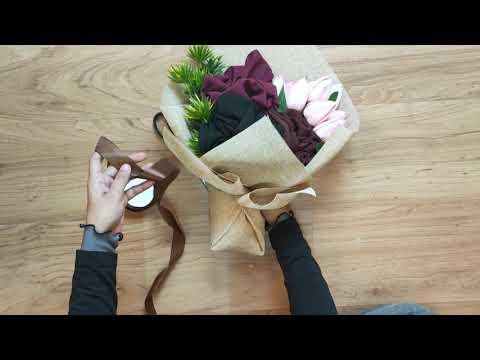 Simple DIY: Hijab Bouquet Tutorial