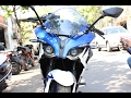 New 2017 Bajaj Pulsar RS200 ABS Walkaround Racing Blue