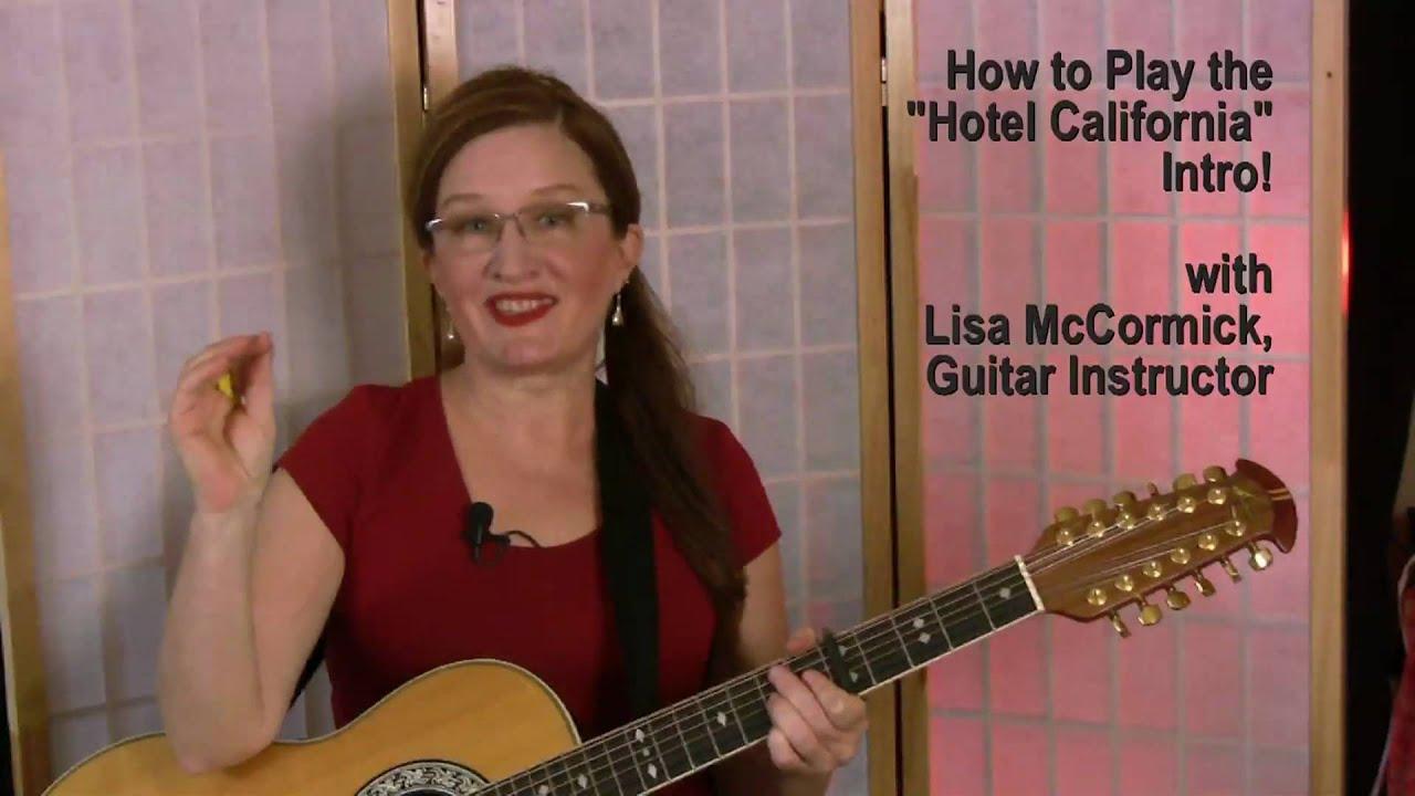 Hotel California Guitar Lesson YouTube