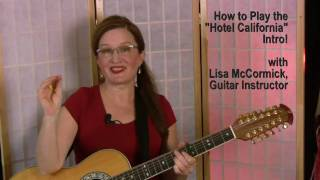 Hotel California: Free Guitar Lesson!