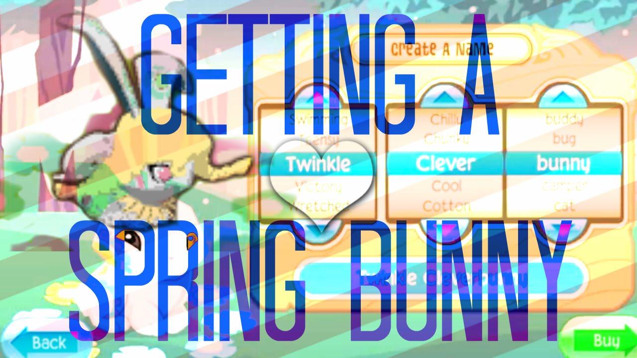 Animal Jam: Getting A Spring Bunny!