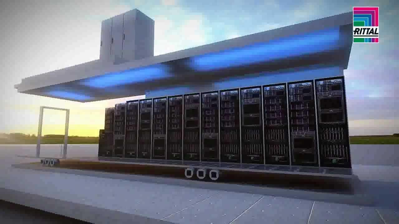 Rittal Modular Data Center Container Youtube