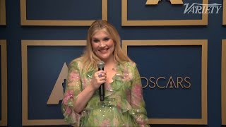 Emerald Fennell Causes Zack Morris to Trend After Oscar Win for Best Original Screenplay