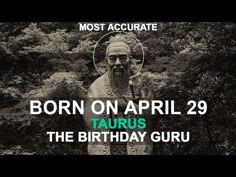 Born on April 29 | Birthday | #aboutyourbirthday | Sample