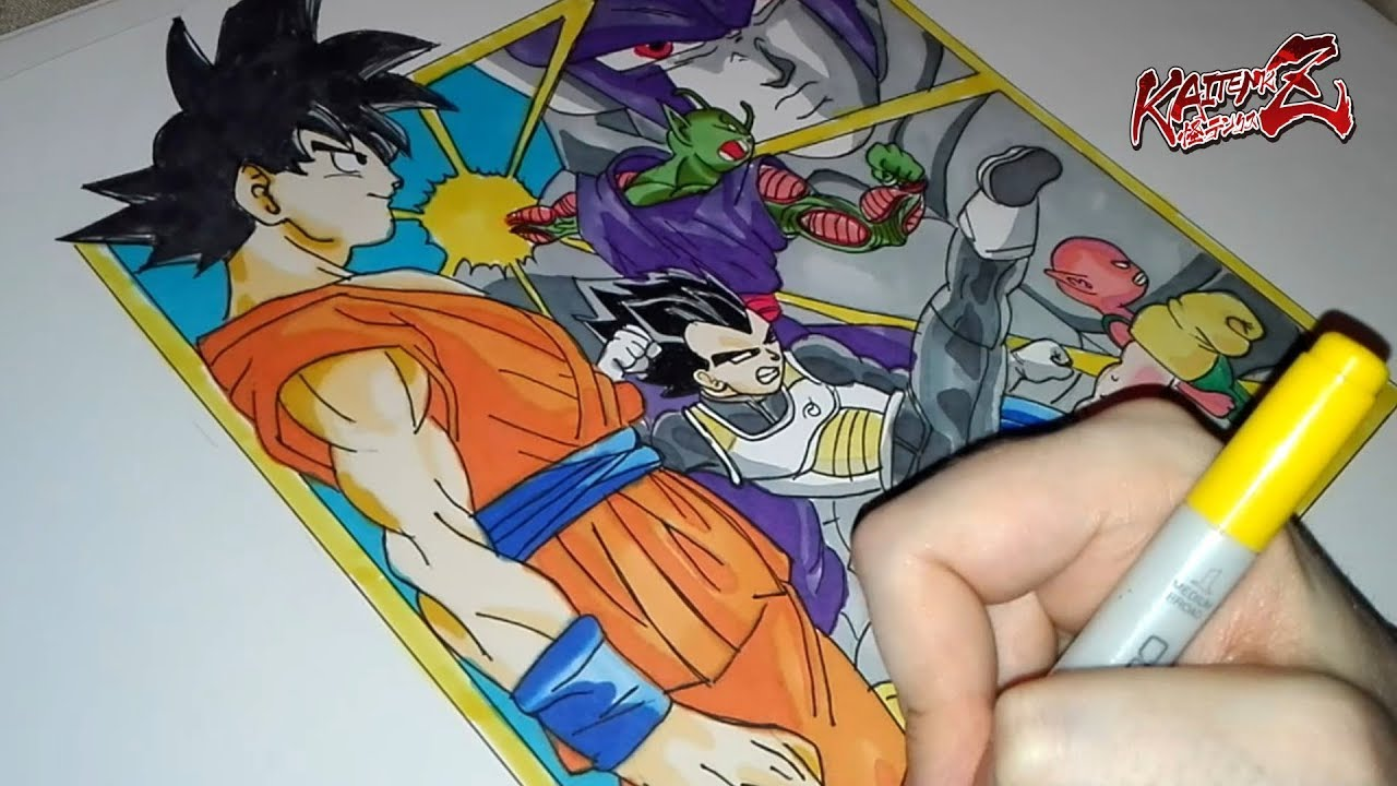 Drawing Dragon Ball Super Manga Art Dragon Ball Super Youtube