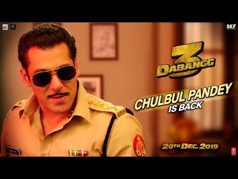 Dabangg 3:  Chulbul Pandey is Back | Salman Khan | Sonakshi Sinha | Prabhu Deva | 20th Dec'19 Mp3