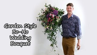 How To Make A Bo-Ho Wedding Bouquet Using Floral Egg