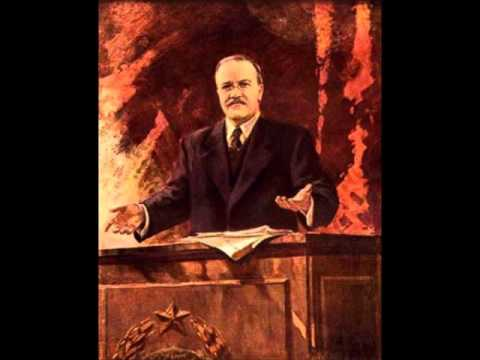 Molotov Speech at the Session of the Supreme Council of the Union of Soviet Socialist Republics(1938