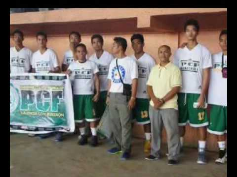 PCF basketball team Valencia City, Bukidnon, 8709