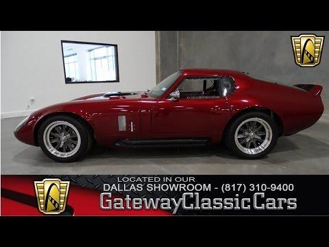 1965 Shelby Daytona - Dallas Showroom - Stock # 40