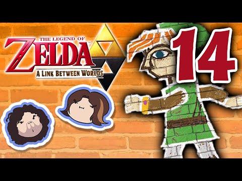 Zelda A Link Between Worlds: The Cheekiest - PART 14 - Game Grumps