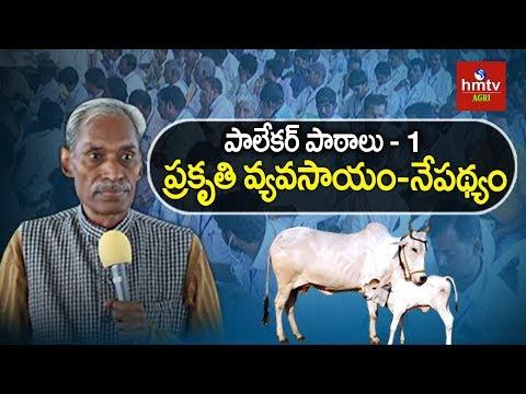 ప్రకృతి వ్యవసాయం - నేపథ్యం | Subhash Palekar Lessons #1 | Spiritual Farming | hmtv Agri