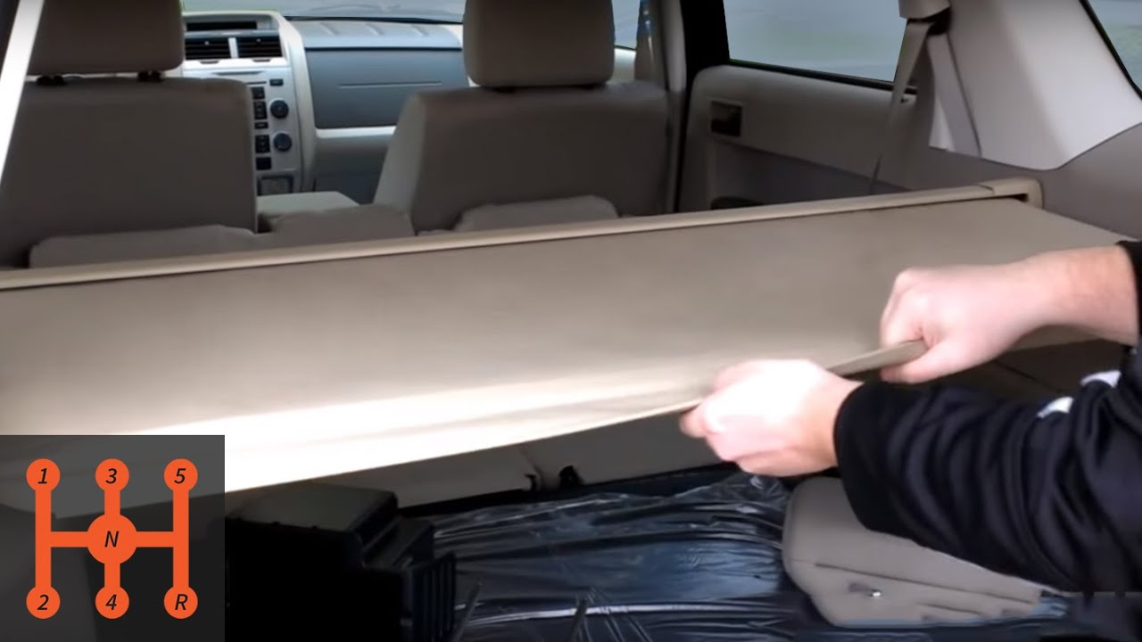 Ford Escape Cargo Shade Installation Partscheap Com