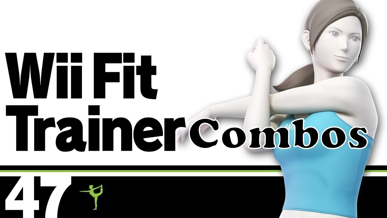 Smash Ultimate Wii Fit Trainer Combos - YouTube