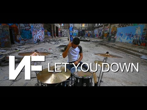 NF - Let You Down - DRUMS COVER