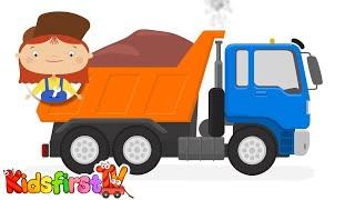 kid s cartoons car doctor garbage truck cement mixer excavator repairs in mcwheelie s garage
