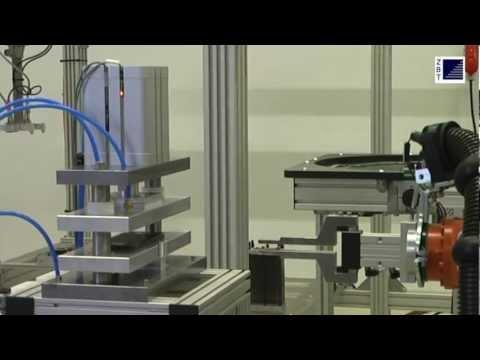 Fuel Cell Manufacturing Plant / Automatisierte Brennstoffzellenmontage am ZBT