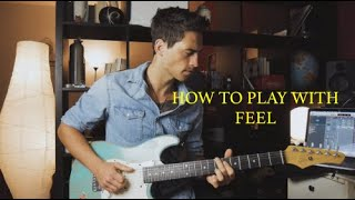 Amazing Trick To Add More Feel To Your Solos [TABS]