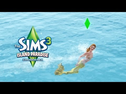 how to become a mermaid sims 3