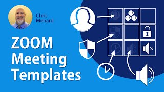 Zoom Meeting Templates Creating And Using For Meeting Youtube