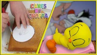 Tweety Bird Cake -  Looney Tunes (How To)