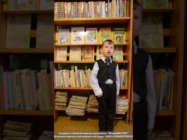 Изображение предпросмотра прочтения – ДенисМальцев читает произведение «Мир» С.В.Михалкова
