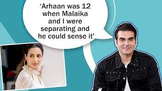 Arbaaz Khan on divorce with Malaika Arora, breaking the news to Arhaan, Salman & family's support