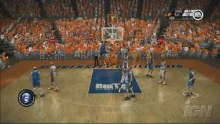 NCAA March Madness 07 Xbox 360 Gameplay - Duke At Illinois