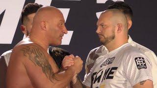 Ważenie: Najman vs łazarski gladiator Bonus BGC | FAME MMA 5